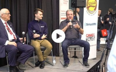 Town Hall with Dave's Corner Garage at the Canadian International Auto Show