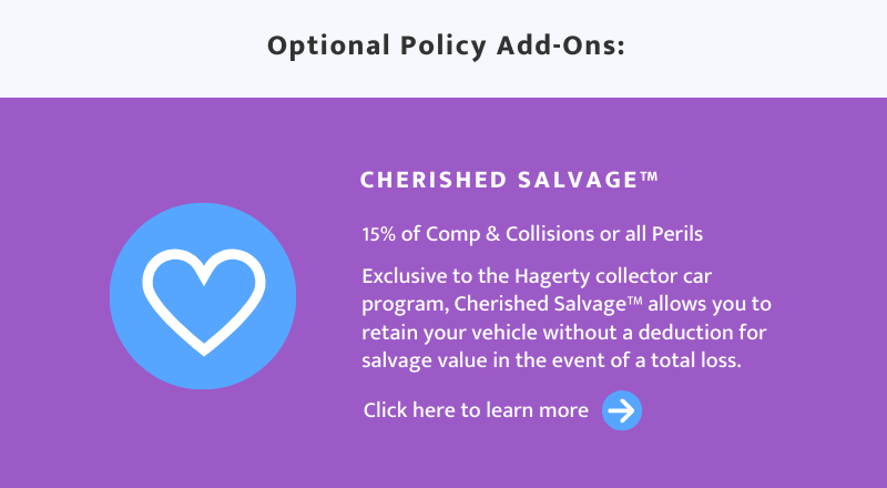 Cherished Salvage Coverage