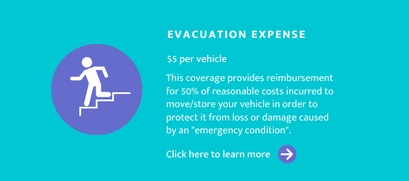 Evacuation Expense Coverage