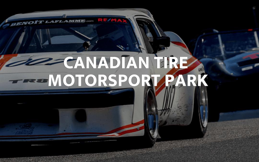 We've Partnered with Canadian Tire Motorsport Park