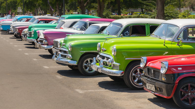The Most Popular Collector Car Colours