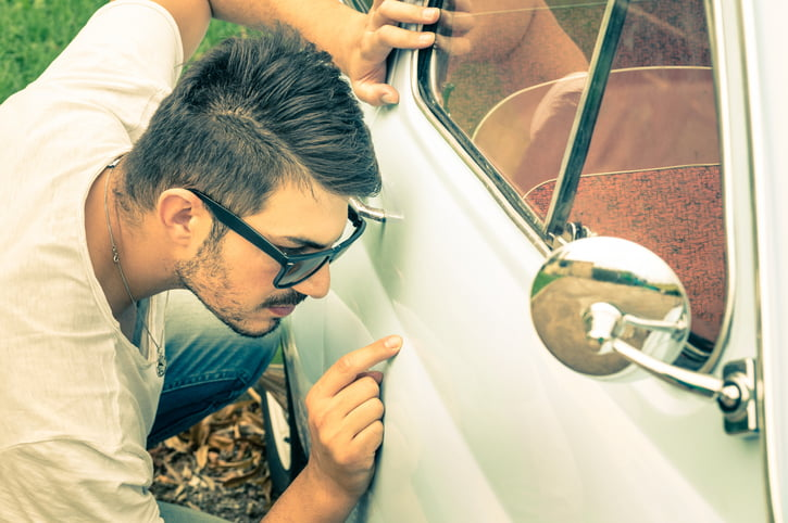 How to Fix Dents on Your Collector Car