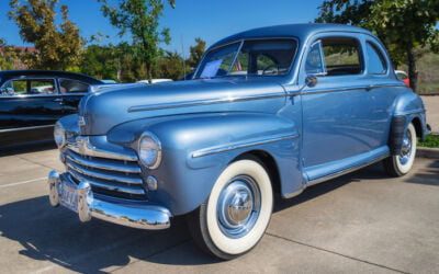 Classic Car of the Month: 1948 Ford Deluxe ('Greased Lightning')