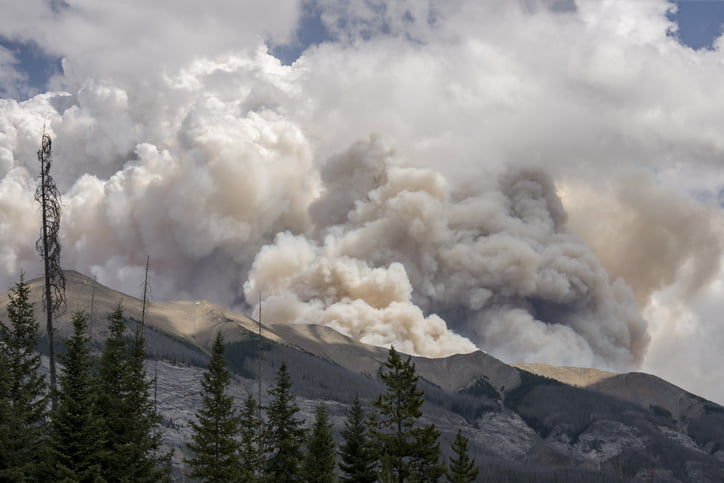 Wildfires in BC, Canada