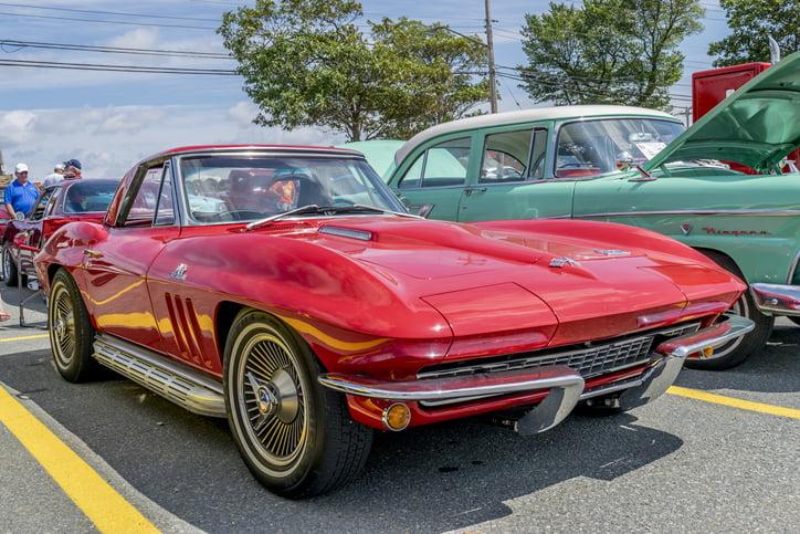Red 1966 Chevrolet Corvette Stingray
